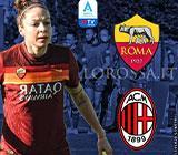Vanessa Bernauer protagonista della copertina di Roma-Milan a cura della redazione di Vocegiallorossa.it!