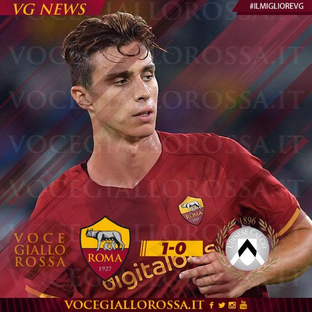 Riccardo Calafiori è il man of the match di Roma-Udinese 1-0