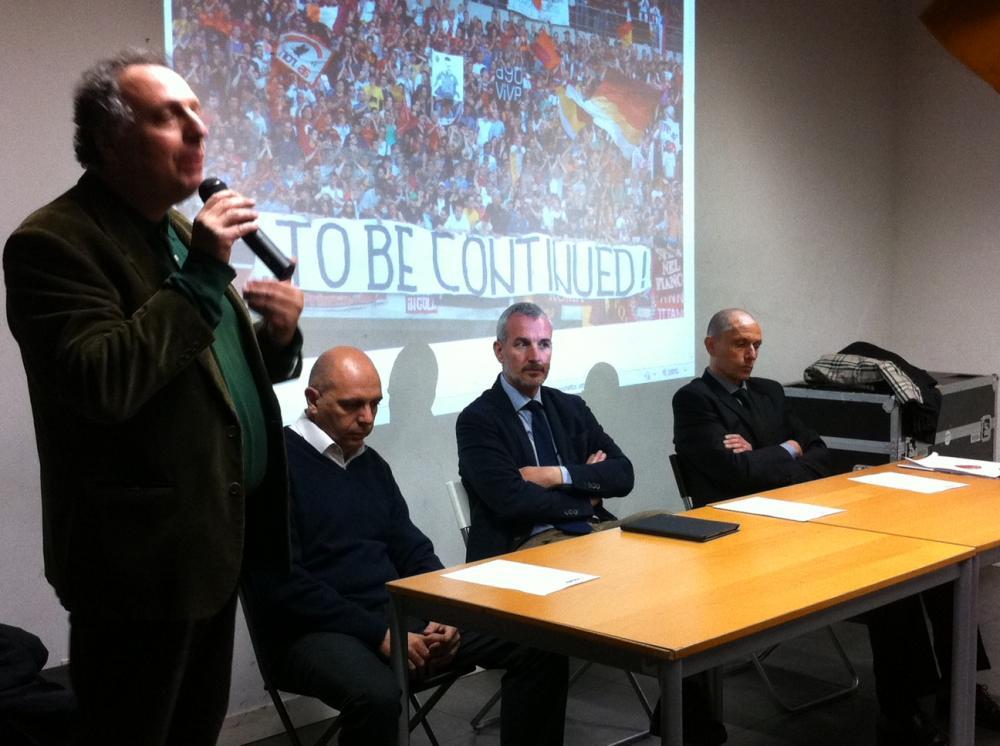 Paolo Cento, Lorenzo Contucci, Daniele Lo Monaco e Carlo Feliziani