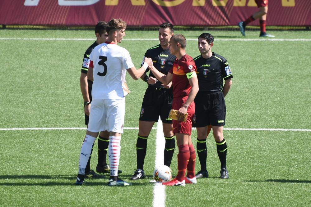 Alessandro Citi (AC Milan U18), Nicol? Evangelisti (AS Roma U18)