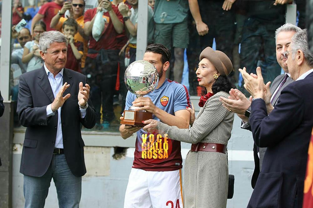 Florenzi premiato con il Pallone d'Argento