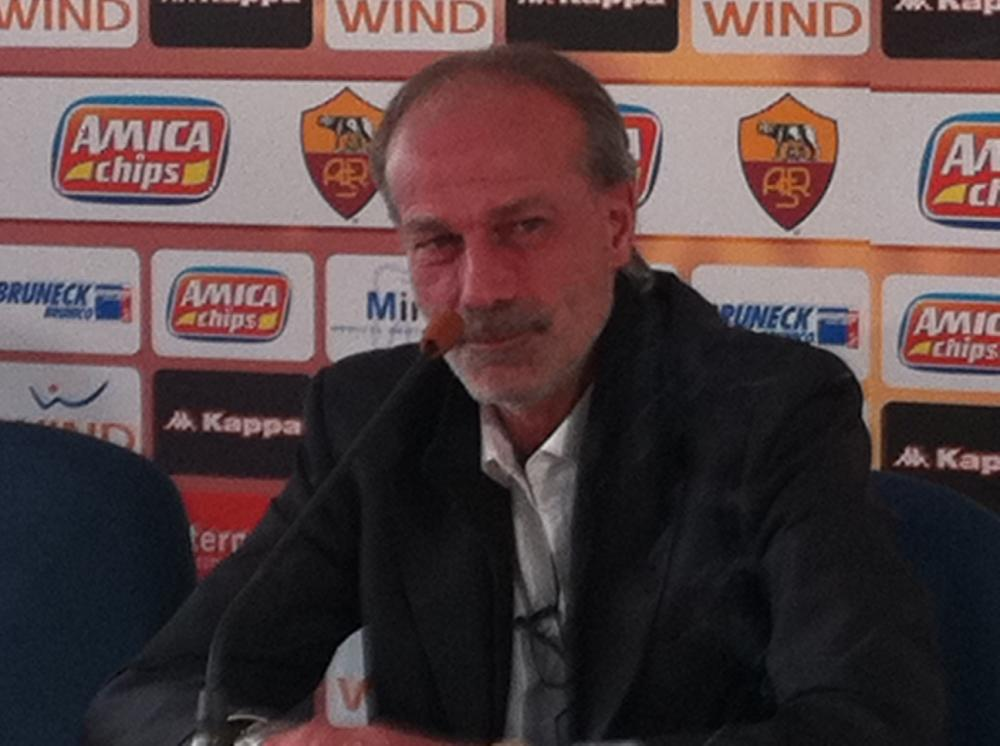 Sabatini in conferenza stampa