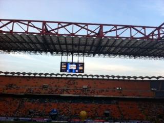 San Siro, semifinale di ritorno di Coppa Italia