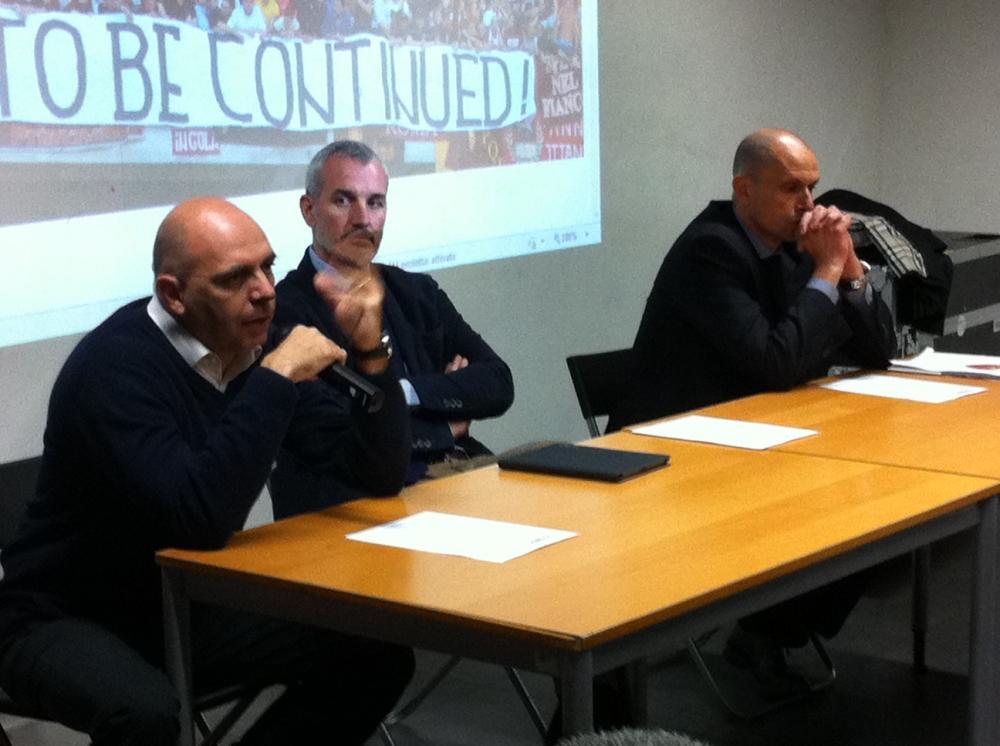 Lorenzo Contucci, Daniele Lo Monaco e Carlo Feliziani