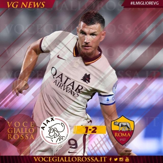 #IlMiglioreVG - Edin Dzeko ? il man of the match di Ajax-Roma 1-2