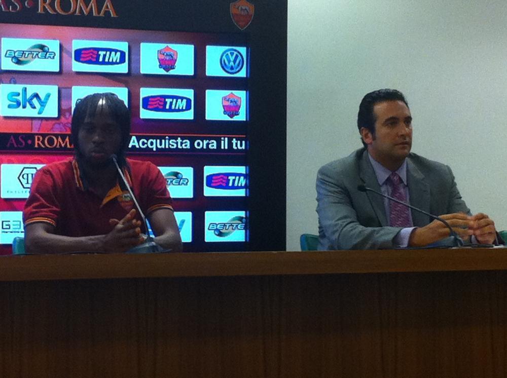 Conferenza stampa di presentazione di Gervinho