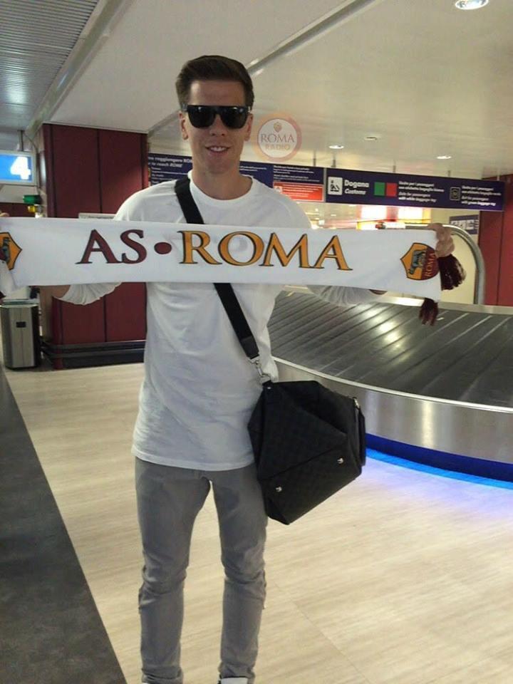 Szczesny arriva a Roma