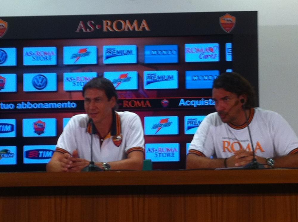 Conferenza stampa di Rudi Garcia