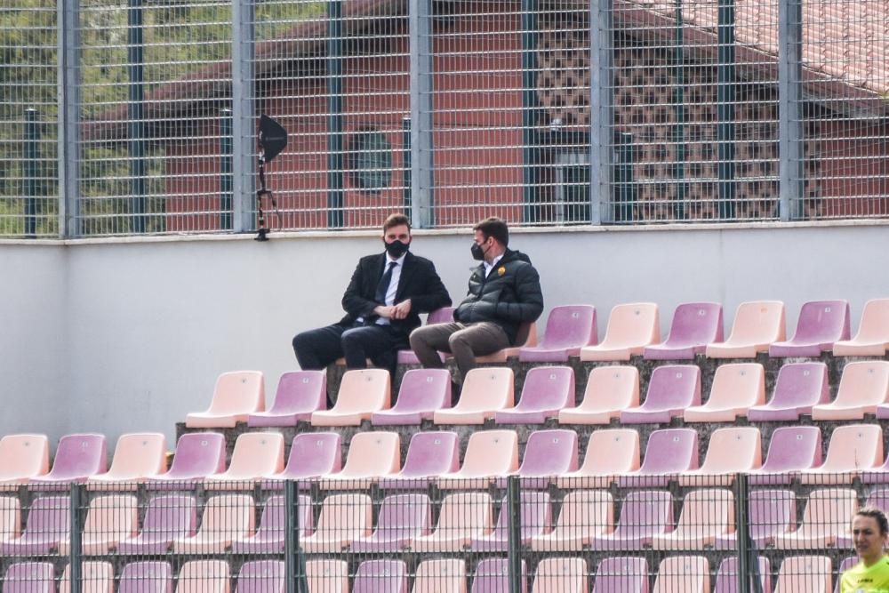 Ryan Friedkin assiste a Roma-Inter del campionato di Serie A Femminile