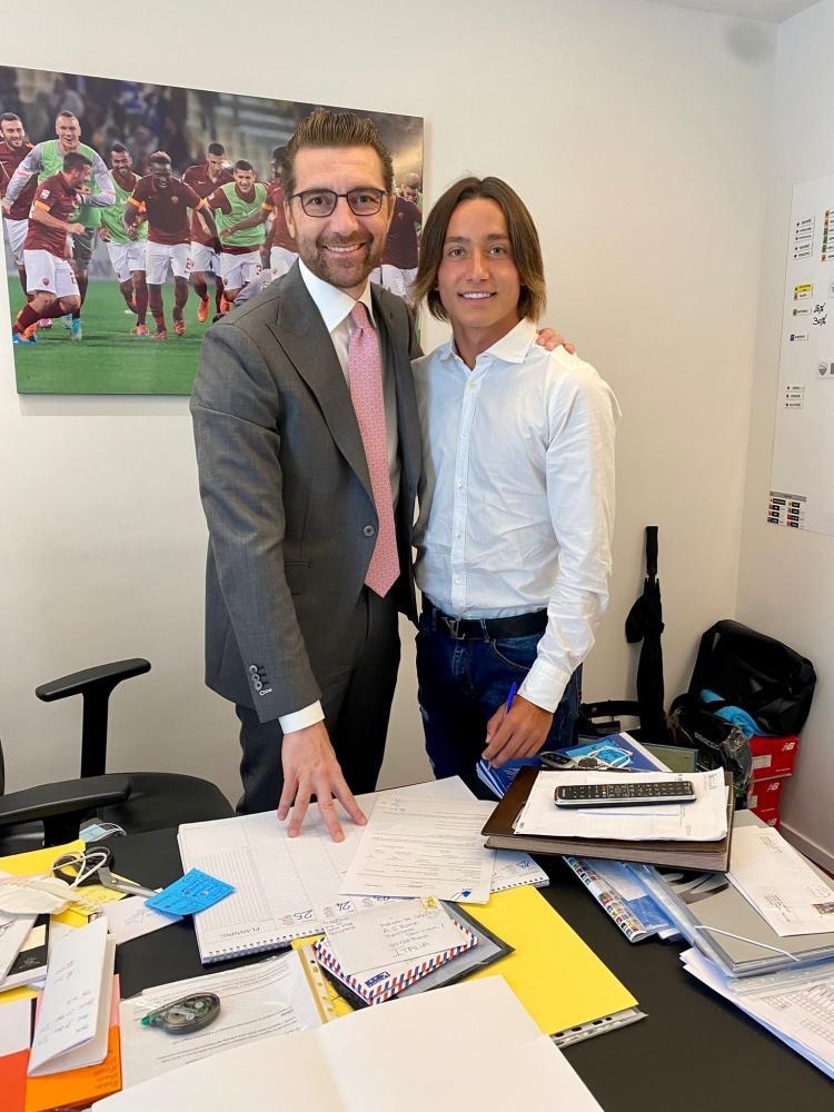 Morgan De Sanctis e Matteo Falasca